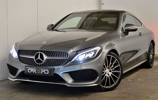 MERCEDES C220D COUPE 170PK FULL AMG PACK