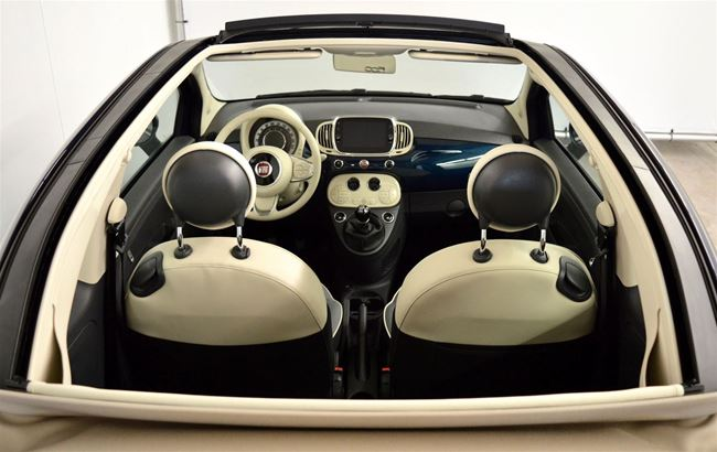"""FIAT 500 CABRIO 1.2 69CH LOUNGE GPS - CRUISE - PDC - 16"""""""