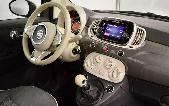 FIAT 500 1.2 LOUNGE 69PK AIRCO - BLUETOOTH- PDC
