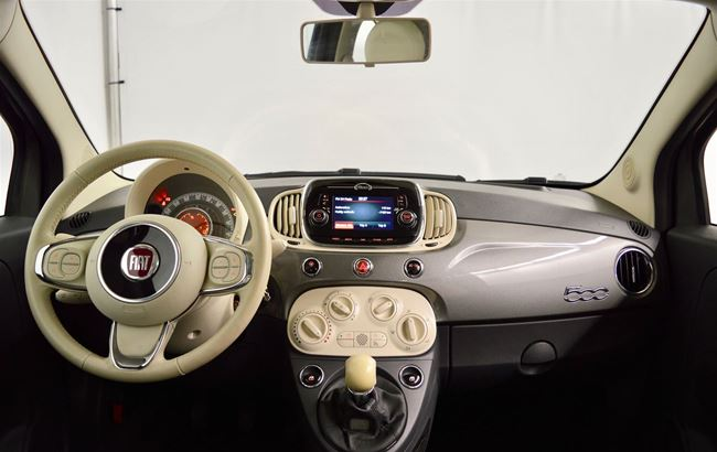 FIAT 500 1.2 LOUNGE 69CH AIRCO - BLUETOOTH - PDC