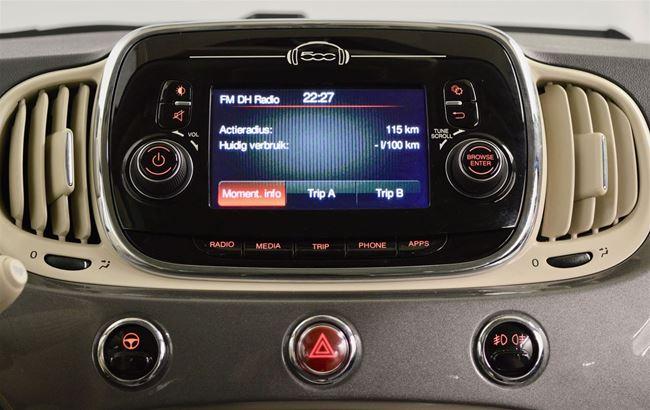 FIAT 500 1.2 LOUNGE 69CH AIRCO - BLUETOOTH - PDC